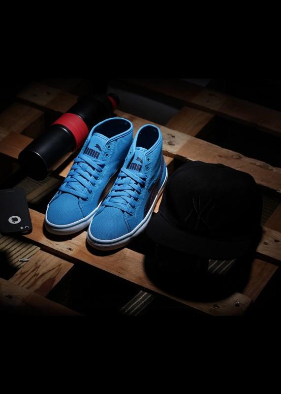Puma Elsu v2 Mid CV IDP Mid Ankle Sneakers(Blue)