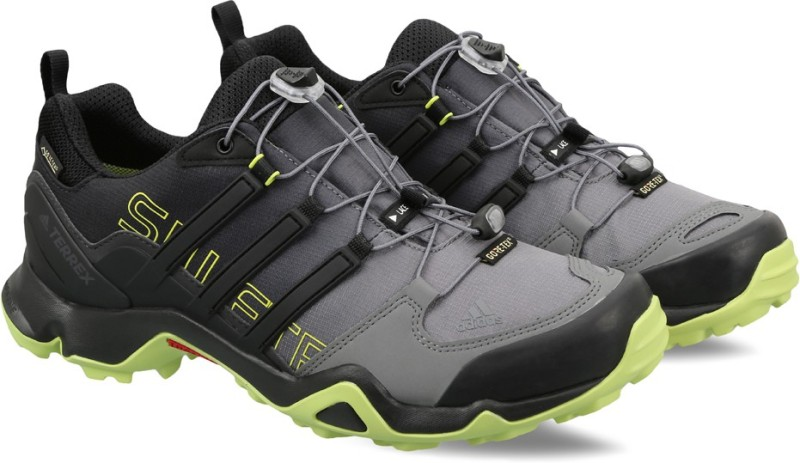 ADIDAS TERREX SWIFT R GTX Outdoor Shoes For Men(Black)