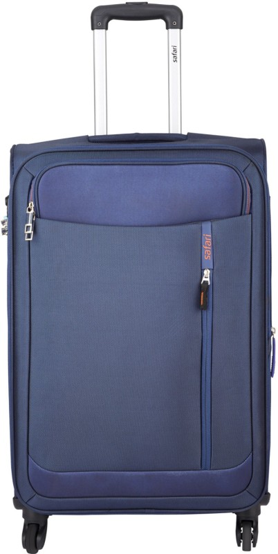 Safari Orion Expandable Check-in Luggage - 23 inch(Blue)