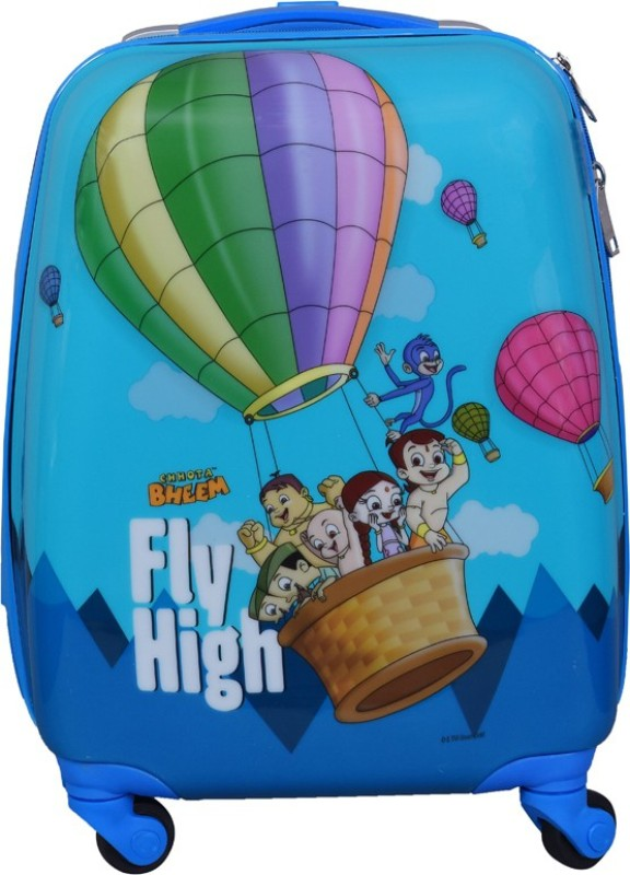Fortune Chhota Bheem Fly High 17 Inch Kids Luggage Trolley Bag Cabin Luggage - 17 inch(Multicolor)
