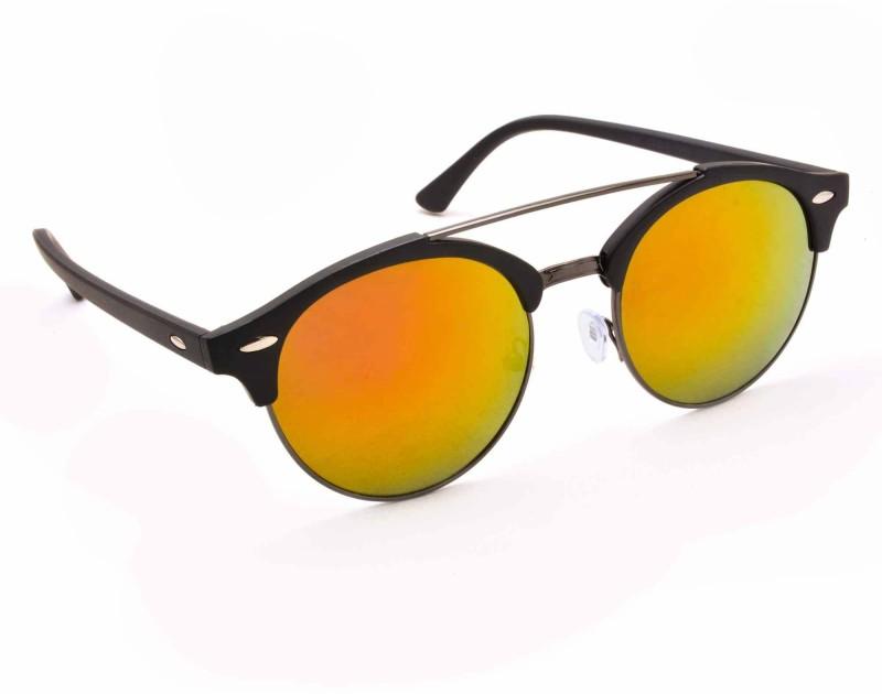 Stacle Round Sunglasses(Yellow) image