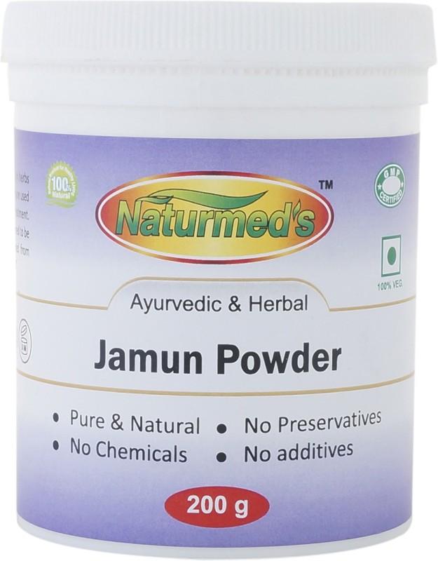 Naturmed's Naturmed's Jamun Powder 200 Grams Jar(200 g)