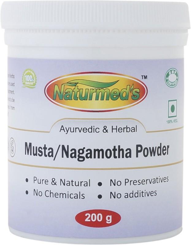 Naturmed's Naturmed's Musta Powder 200 Grams Jar(200 g)