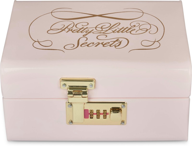 Elan Metal Trunk(Finish and Fabric Color - PINK)