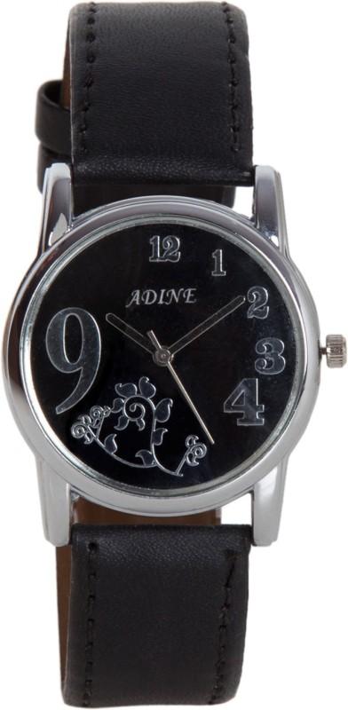 Adine Ad-1233Black Black Fabulous Women's Watch image