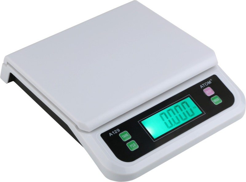 ATOM 129 Portable Weighing Scale(White)