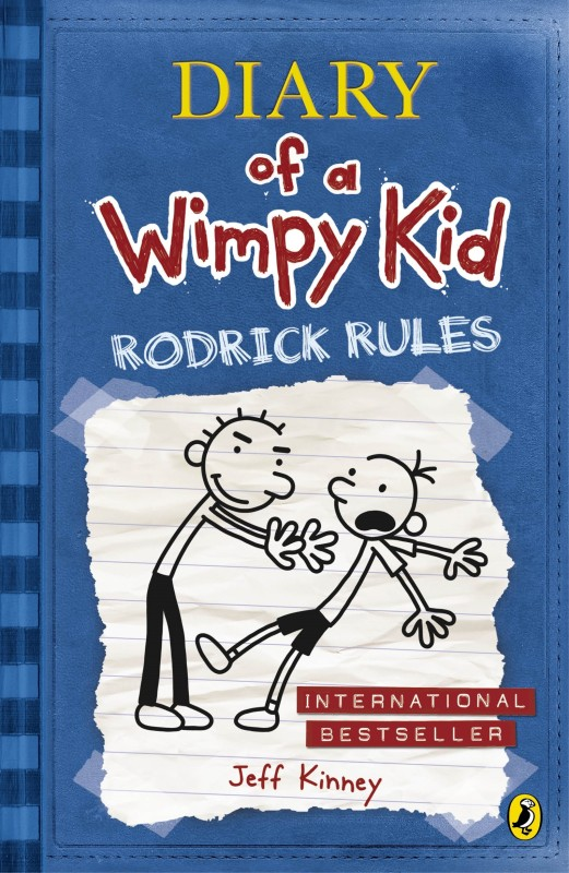 Diary of a Wimpy Kid Rodrick Rules(English, Paperback, Jeff Kinney)