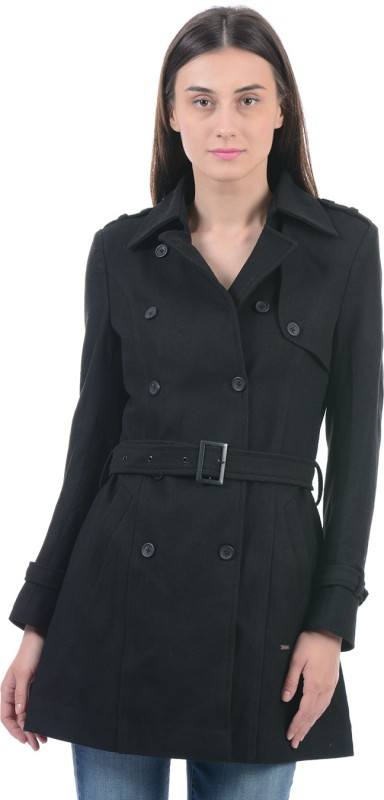 Pepe Jeans Women Double Breasted Coat
