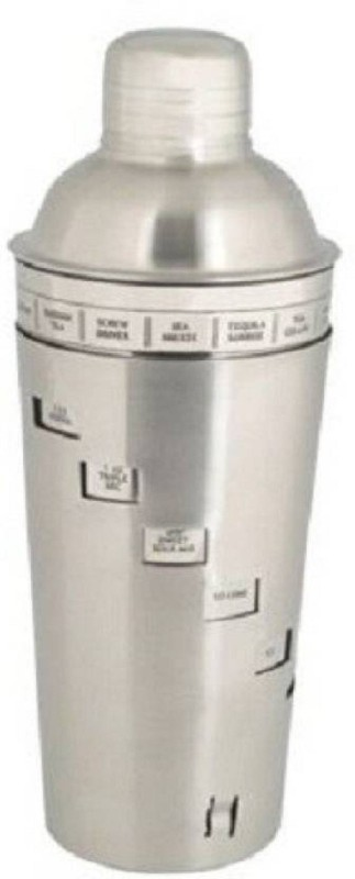 Jazam 748 ml Stainless Steel Cocktail Shaker(Silver)
