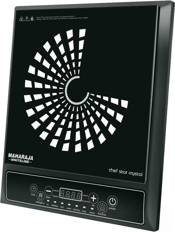 Maharaja Whiteline IC-109 Induction Cooktop(Black, Push Button)