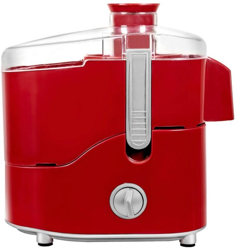 Maharaja Whiteline Juice Extractor Treasure (JE-100) 550 W Mixer Grinder(Red)
