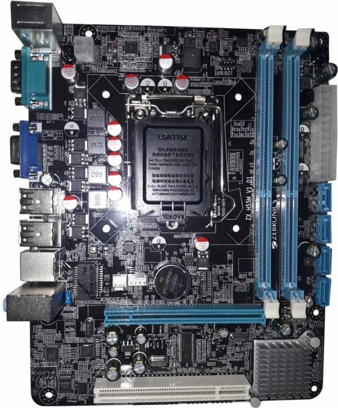 Zebronic ZEB-H55 Socket 1156 Motherboard image