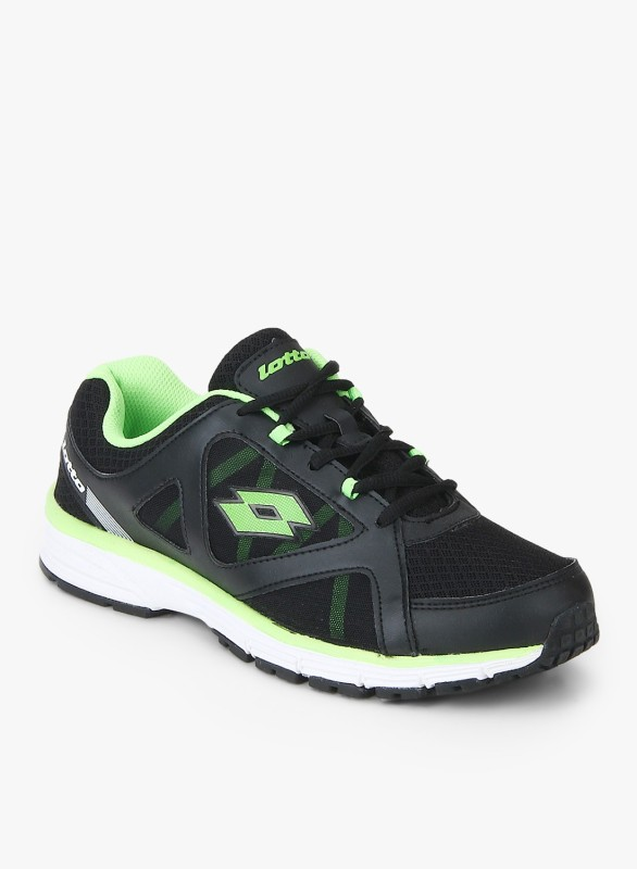 Lotto Wind Running Shoes For Men(Black)
