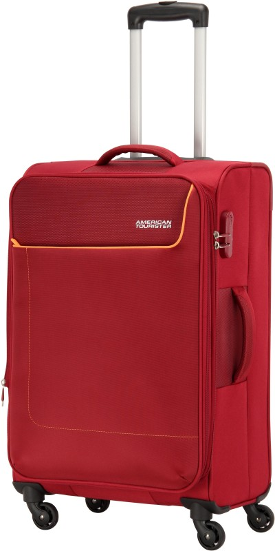 American Tourister Jamaica Expandable Cabin Luggage - 23 inch(Red)