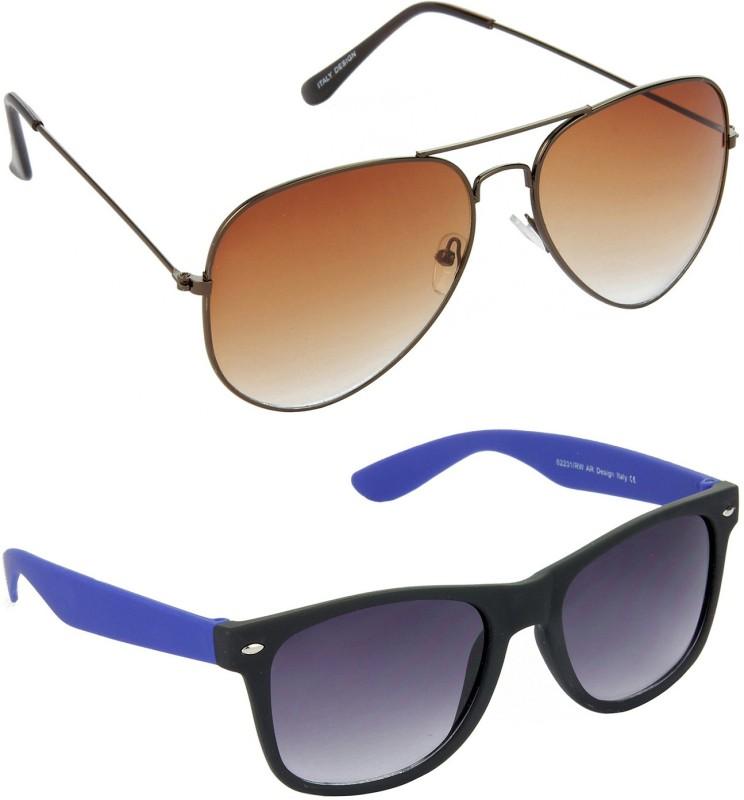 Hrinkar Aviator Sunglasses(For Boys) image