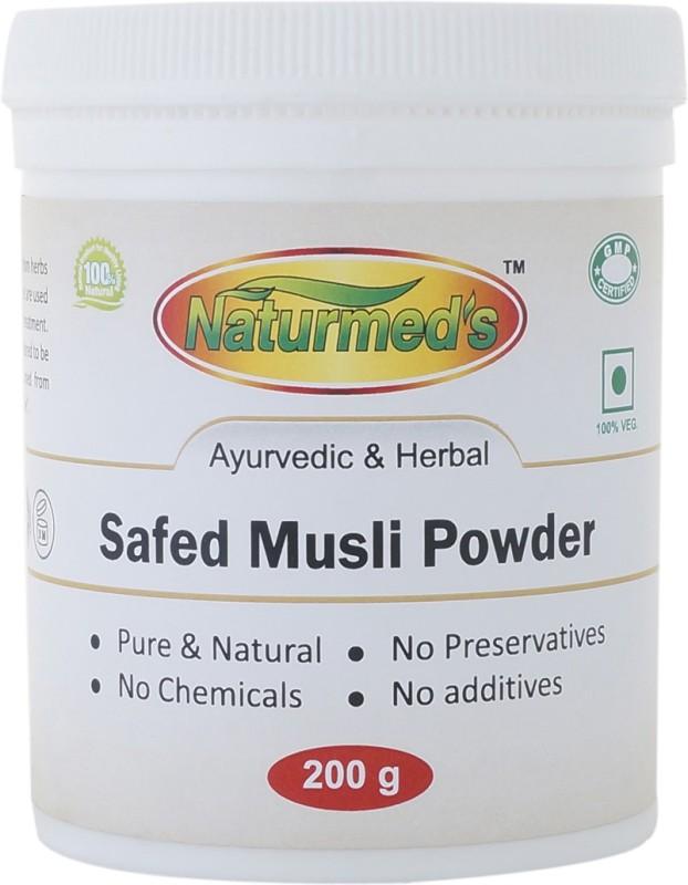 Naturmed's Naturmed's Safed Musli Powder 200 Grams Jar(200 g)
