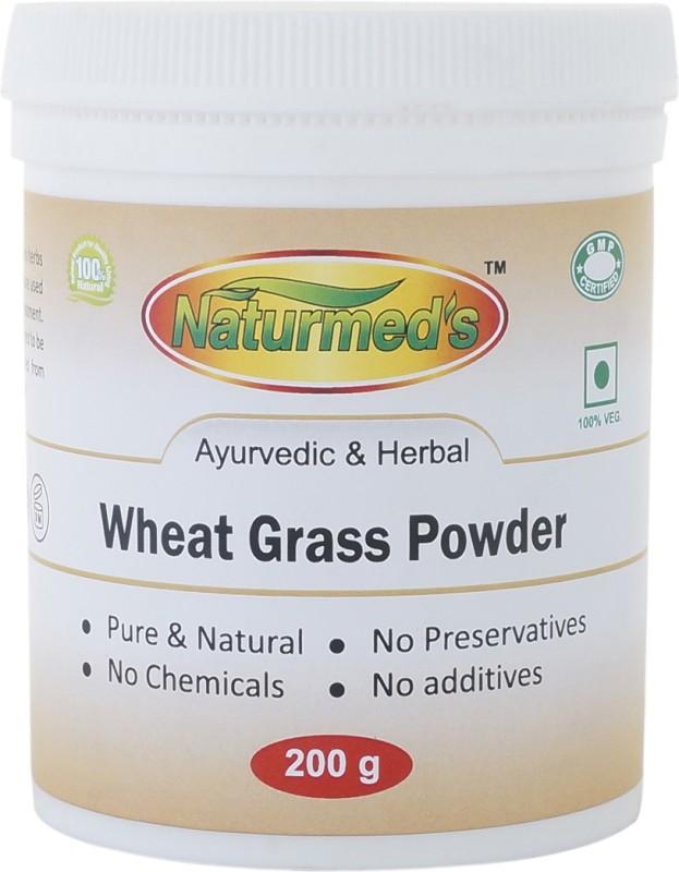 NTURMED'S Naturmed's Wheat grass Powder 200 Grams Jar(200 g)
