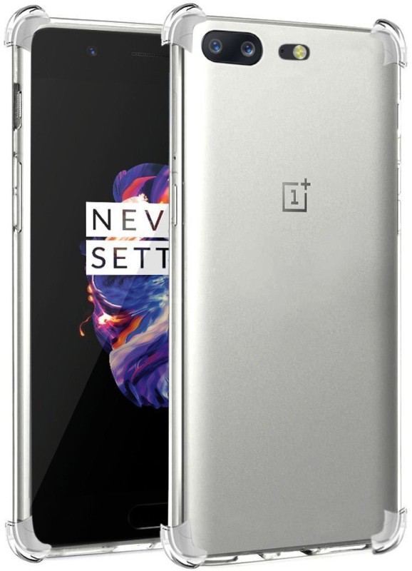REALIKE Back Cover for OnePlus 5(Transparent, Shock Proof, Silicon, Plastic)