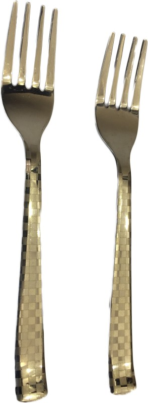 Blessed Voyager Stainless Steel Fork Set of 6 Stainless Steel Table Fork Set(Pack of 6)
