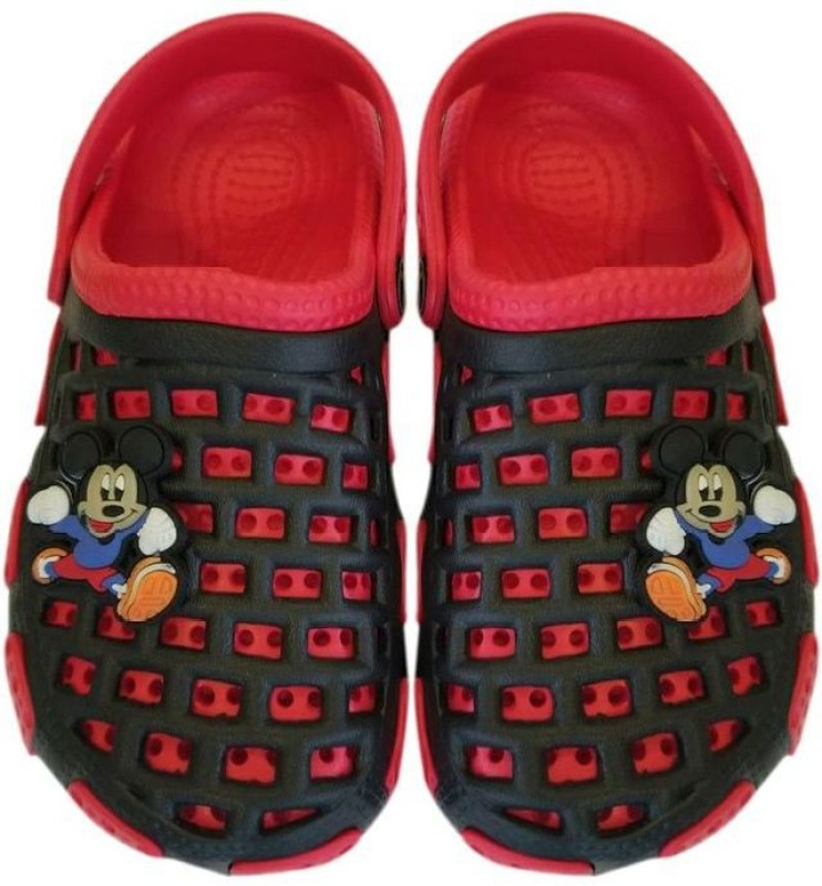 Princess Wardrobe Boys & Girls Slip-on Clogs(Red)