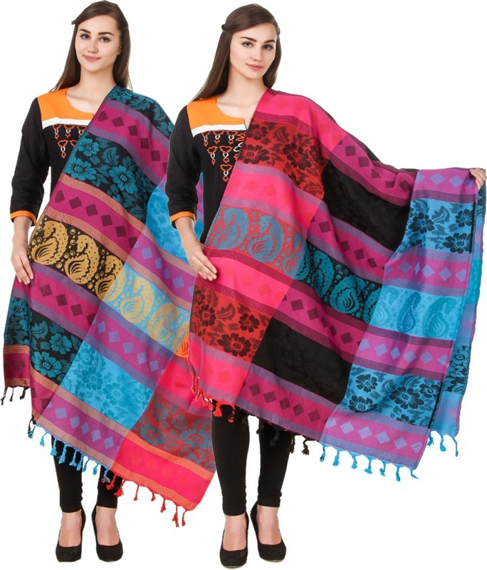 Hardys Wool Self Design Womens Shawl