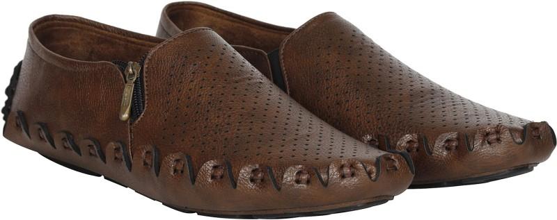 Kraasa Fan Loafers(Brown)
