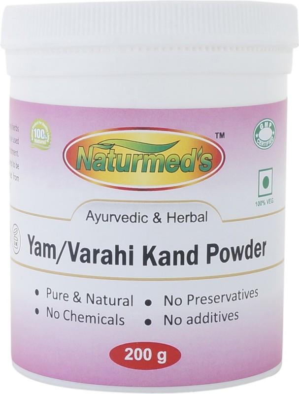 Naturmed's Varahikand/Yam Powder 200 Grams Jar(200 g)