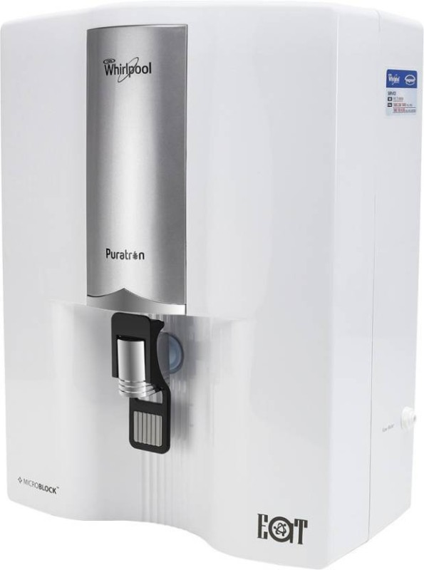 Whirlpool Puratron 8 L EAT Water Purifier(silver white)