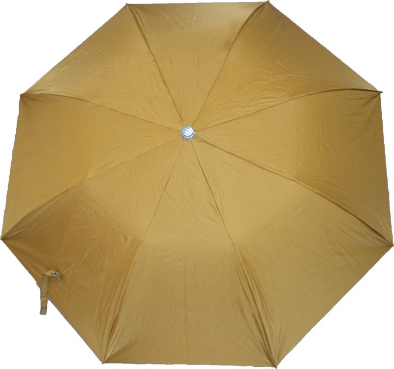 K.C Paul Swapna 2 Fold Umbrella(Yellow)