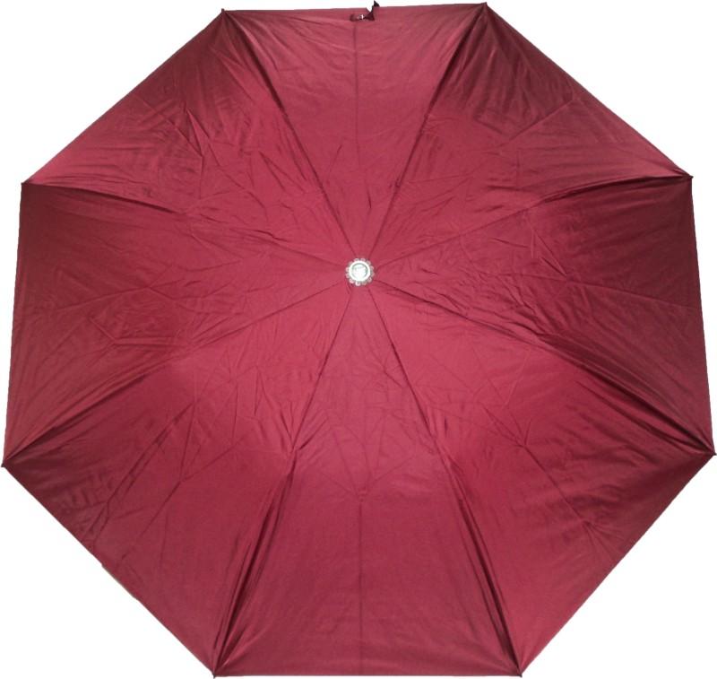 K.C Paul Swapna 2 Fold Umbrella(Maroon)