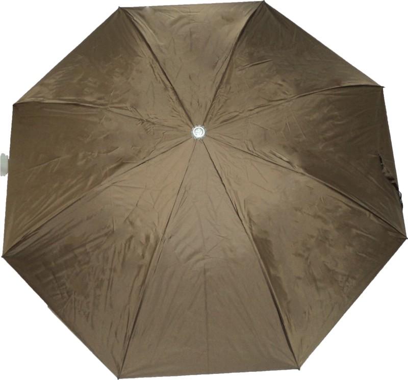 K.C Paul Swapna 2 Fold Umbrella(Brown)