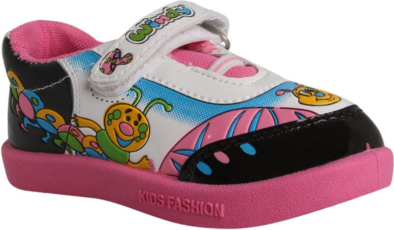 WINDY Boys & Girls Velcro Casual Boots(Pink)