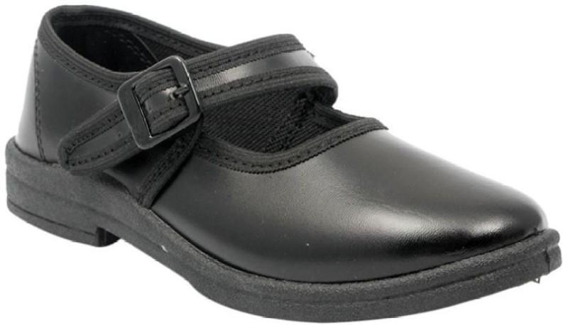 Lakhani Vardaan Girls Strap Formal Boots(Black)