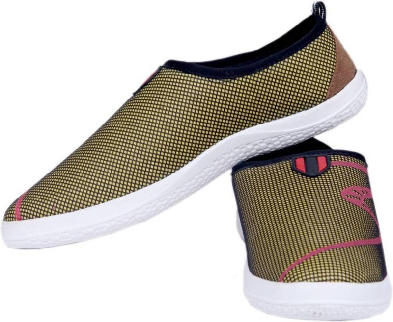 Clerk Boys Slip on Sneakers(Yellow)