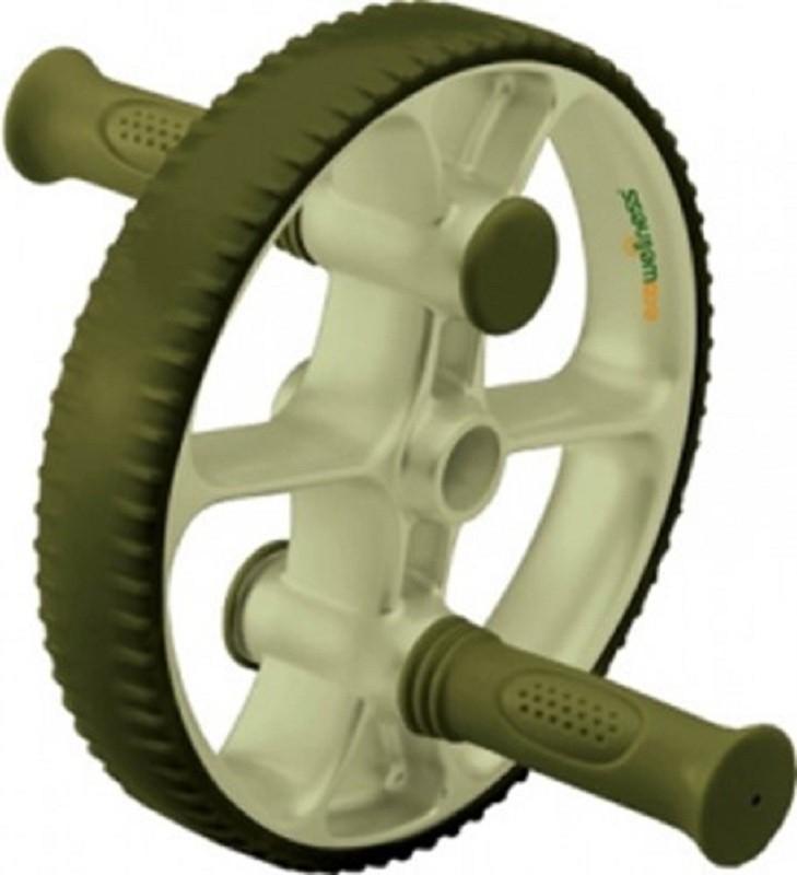 EcoWellness Steel Wheel Ab Exerciser(Green)
