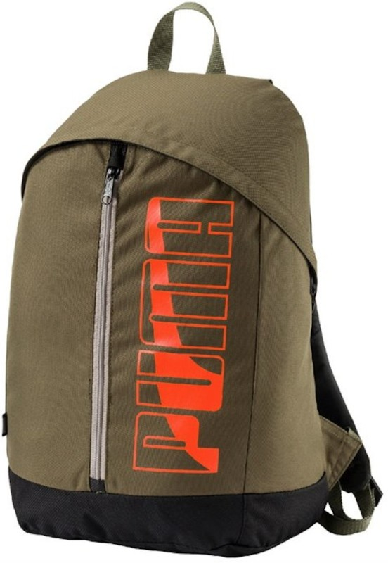 Puma Pioneer II 21 L Laptop Backpack(Green)