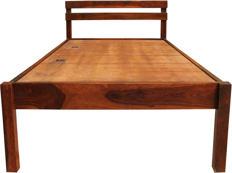 The Attic Solid Wood Single Bed(Finish Color - Honey)