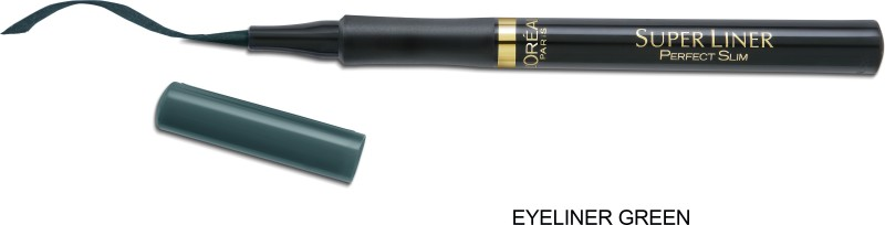 LOreal Paris Super Liner Perfect Slim - Blue 6G 1 g(Green)