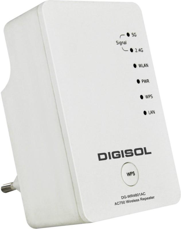 Digisol DG-WR4801AC Router(White)