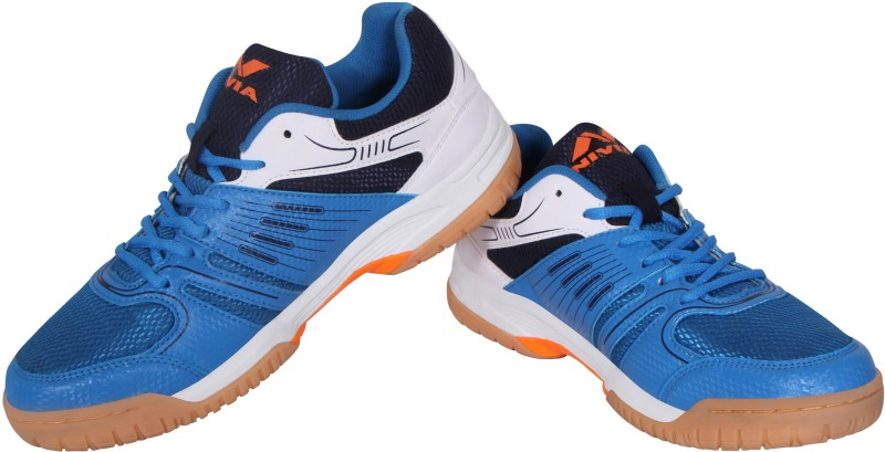 Nivia Nivia Gel Verdict Badminton Shoes(Blue, White)