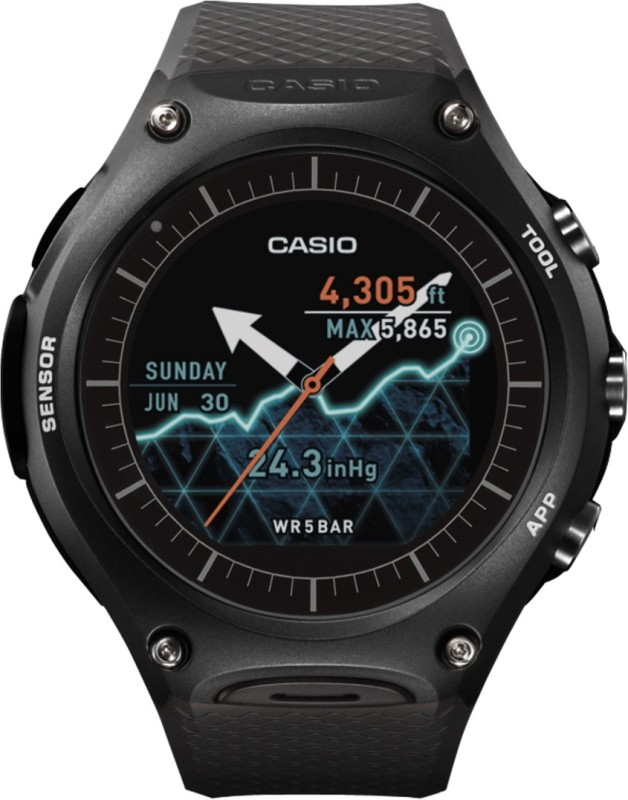 Casio **** Outdoor Smartwatch(Black Strap Regular)