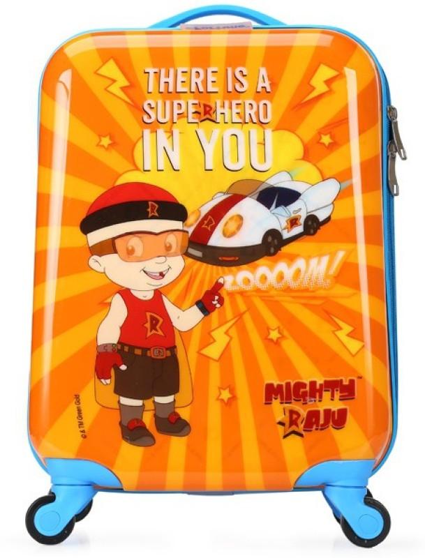 Fortune Chhota Bheem Super Hero In You 17 Inch Kids Luggage Trolley Bag Cabin Luggage - 17 inch(Multicolor)