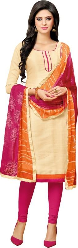 Kalinda Jute Solid Salwar Suit Dupatta Material(Un-stitched)