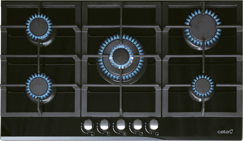 CATA LCI 941 BK Glass Automatic Gas Stove(5 Burners)
