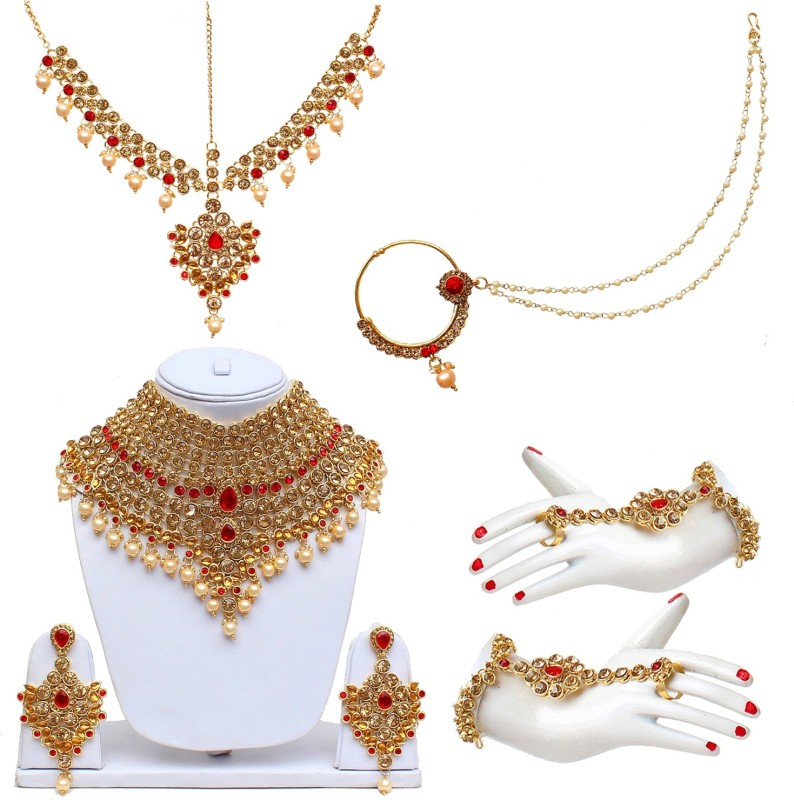 Lucky Jewellery Alloy Jewel Set(Multicolor)