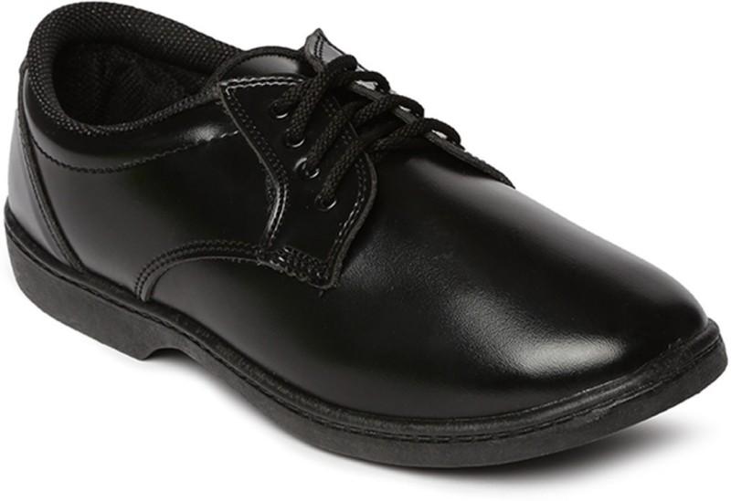 Paragon Boys Lace Formal Boots(Black)