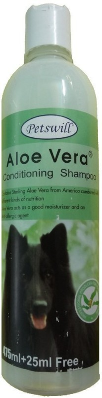 PETSWILL petswill aloe vera 500ml Conditioning ALOE VERA Dog Shampoo(500 ml)