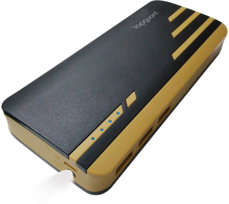 Lapguard Sailing1530-11K 11000 mAh Power Bank(Black, Gold, Lithium-ion)