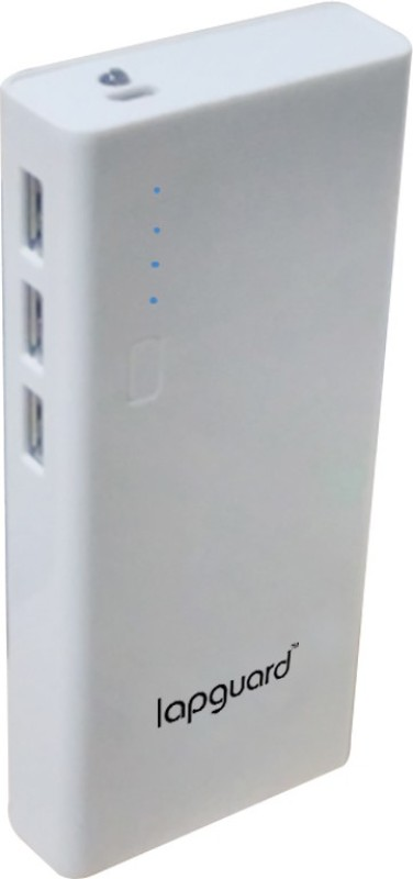 Lapguard LG514-11K 11000 mAh Power Bank(White, Lithium-ion)