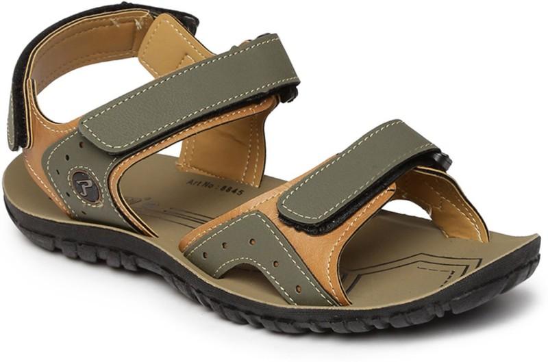 Paragon Men Olive Sandals